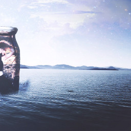 freetoedit wapfloatonwater ocean sea sky