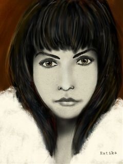 art drawing illustration fantasy portrait