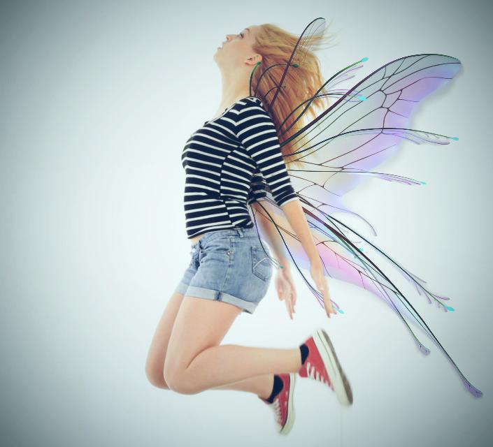 #freetoedit #butterfly #girl #levitate