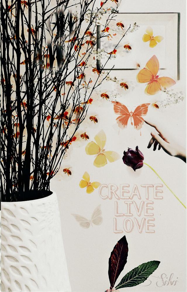 #FreeToEdit  #Remixes   original photos freetoedit  @jamie-w-cummings  @jonniejonnie  @thingsthatihaveseen  @farhadisartangi  @bettwo  #edited  #PicsArt  #butterflies  #flowers  #hand #nature #text  #interesting  #myedition