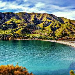 panorama ocean nz newzealand cablebay