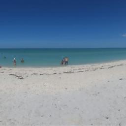 panorama beach nature summer