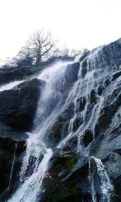 waterfall triptoireland ireland drama wild