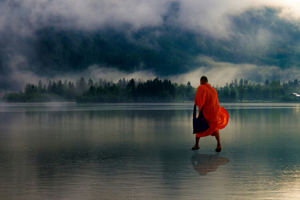 #FreeToEdit #edited  #from free to edit #monk  #colorsplash #people #nature