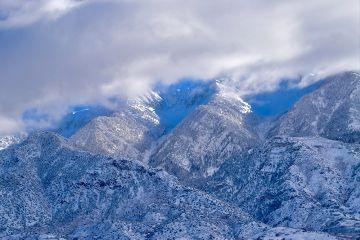 nature landscape winter mountains snow freetoedit
