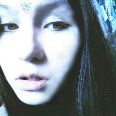 picsart girls blue vsco