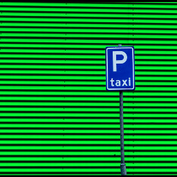 photography colorful abstract green taxi