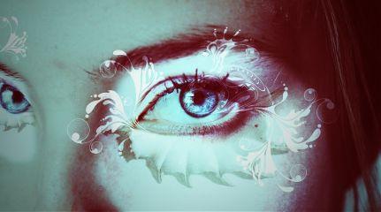 freetoedit eyes blue madewithpicsart remixed