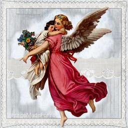 blogger blogspot vintage angels freebie