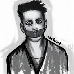 freehandskeatch sketch drawing blackandwhite emotions