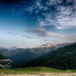 mobilegraphy mountain clouds farfaraway sky wpp