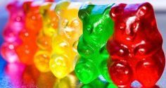 colorful haribo gummybears sweet