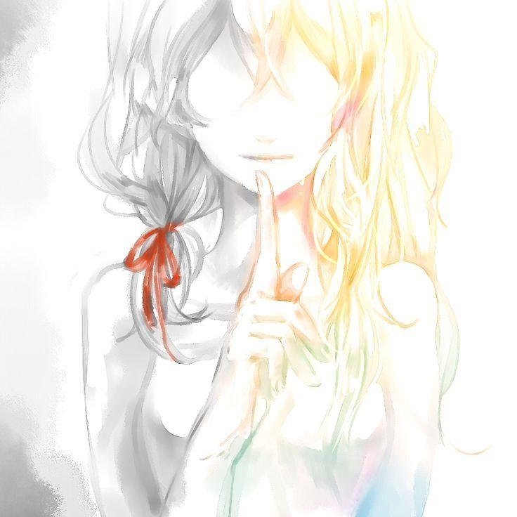 Youarelieinapril animegirl anime happy sad