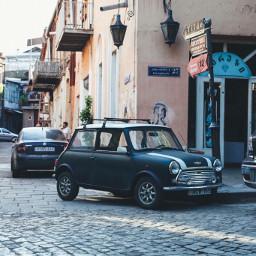 mrbean car minicooper oldcity tbilisi freetoedit