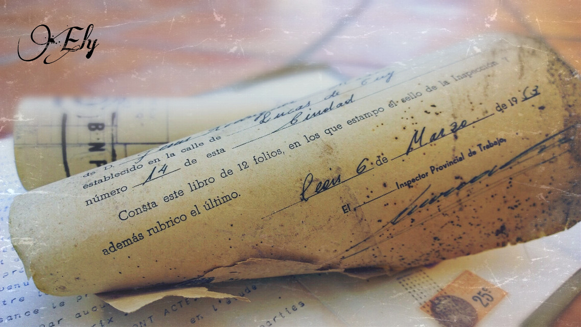 Documentos antiguos   #antique #book #oldphoto #sepia #wrinting