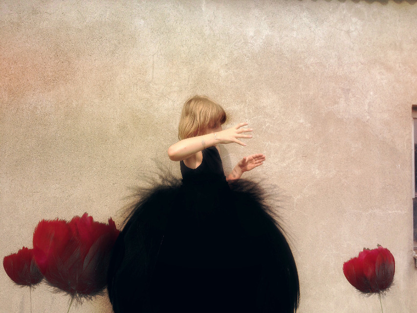 Sound poppies #poppies #artisticportrait #people #flower #undefined