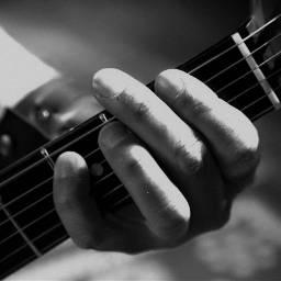 blackandwhite guitar music rocknroll b