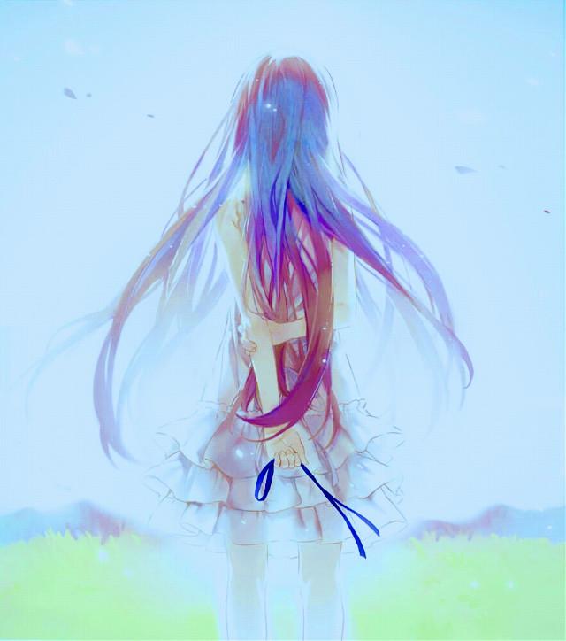 Porque te has ìdo Menma!!!?  Why you've gone Menma!!!? 😢😭😭😭😭😭😭😭 (╥_╥) 。・゚・(´∩`)・゚・。 #animegirl #emotions