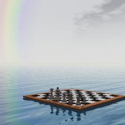 freetoedit rainbow mirroring nature chess