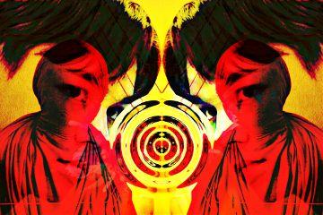 freetoedit distort mirror face overlay