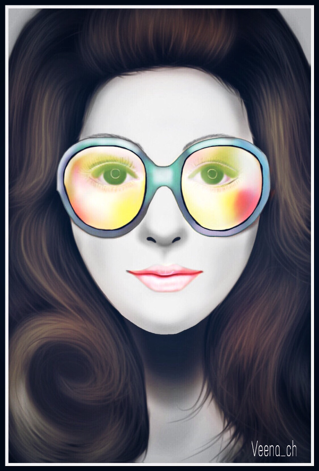 #wapinmyshades  #drawing #mydrawing #art #digitalart #girl #portrait  Web reference used