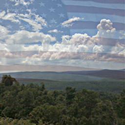 4thofjuly redwhiteandblue photography landscape mountains