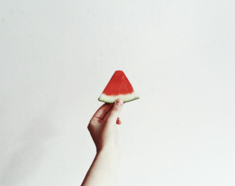 🍉🍉🍉🍉🍉🍉 #photography #hand #simple #lowcontrast #minimalism #minimalist #summer #colorful #food  #FreeToEdit