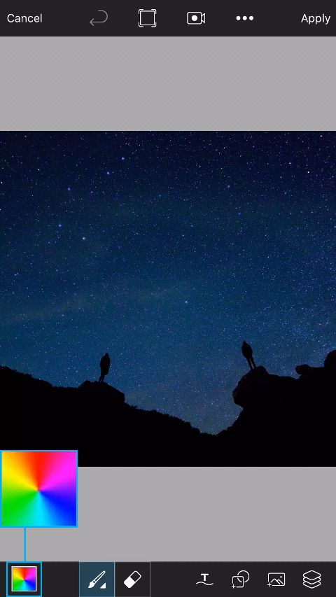 Neon Sky Lights - Tutorials - PicsArt