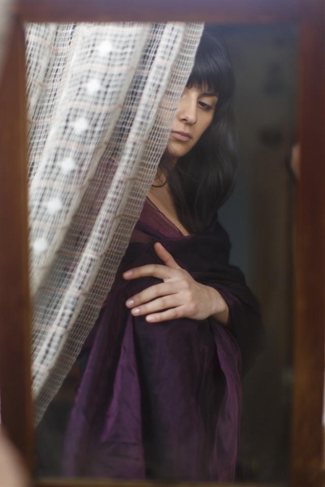 #FreeToEdit #portrait #girl #mirror #grig15