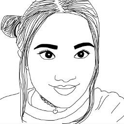 art edit drawing outline