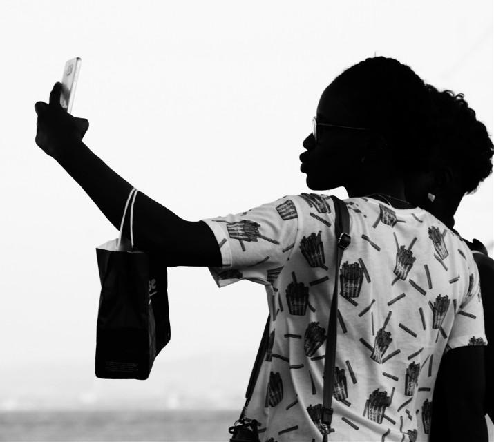#FreeToEdit  #blackandwhite  #selfie #travel