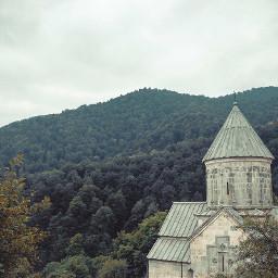 church ruleofthirds dull fog dilijan freetoedit