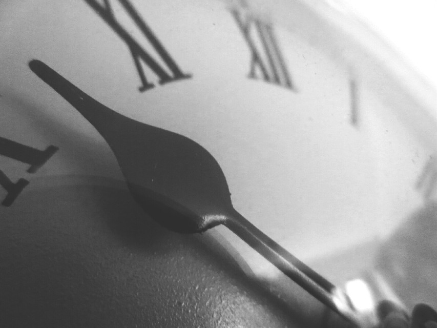 No wonder you're late. Why, this watch is exactly two days slow.  ~ Mad Hatter   #time  #photography  #clock  #blackandwhite  #close-up