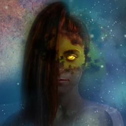 freetoedit freetoeditedited galaxy goddesses zodiacseries