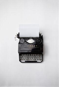 freetoedit paper typewriter blackandwhite keyboard