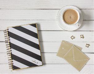 freetoedit coffee notebook envelopers white