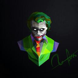 freetoedit superhero colorful joker the