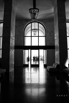 reflectionphotography reflection blackandwhite emotions hdr