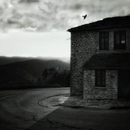 zagoria zagoroxoria blackandwhite sky blackandwhitephotography