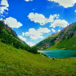 photography nature landscape mountains colorful