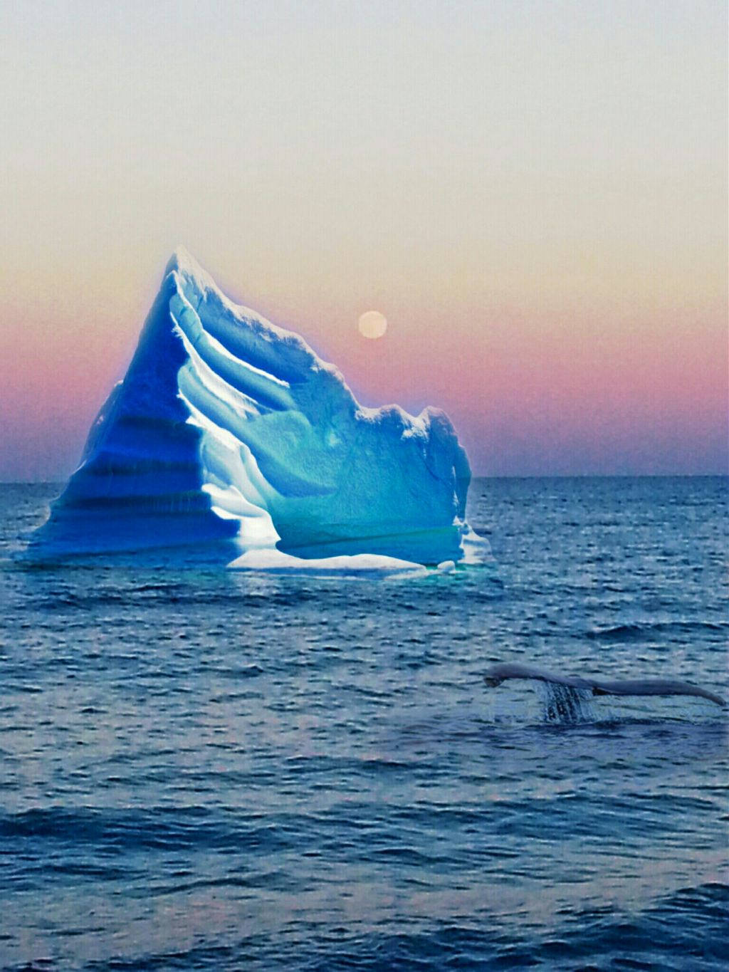 Hi friends Pa good weekend  #sanset  #iceberg  #sea #nature  #blue  #whale  #edit #wehalptheplanet #moonlightdreams  #collage  #simplyedit  #life #colors  #planet  @pa @freetoedit